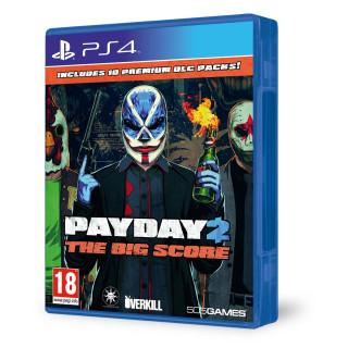 Payday 2: The Big Score (használt) PS4