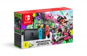 Nintendo Switch (Neon Blue - Neon Red) + Splatoon 2 Switch