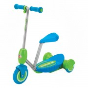 Razor Lil Es Electric Scooter Seated - Blue PC