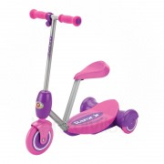 Razor Lil Es Electric Scooter Seated - Pink PC