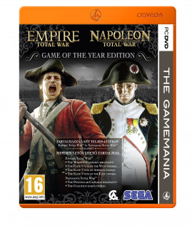 Empire Total War + Napoleon Game of the Year Edition PC