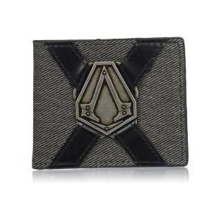 Assassin's Creed pénztárca metál jelvénnyel - Good Loot AJÁNDÉKTÁRGY