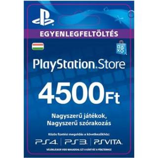 PSN Network kártya 4500 HUF (PSN Network Card - HU) (DIGITÁLIS) (Letölthető) PS4