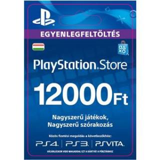PSN Network kártya 12000 HUF (PSN Network Card - HU) (DIGITÁLIS) (Letölthető) PS4