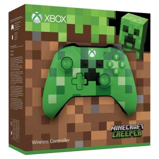 Xbox One Vezeték nélküli Kontroller (Minecraft Creeper Limited Edition) XBOX ONE