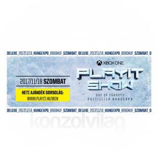 PlayIT Show Budapest 2017 Ősz - Deluxe jegy (Szombat) AJÁNDÉKTÁRGY