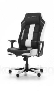 Gamer szék DXRacer Boss Fekete/Fehér (GC-B120-NW-F2) PC