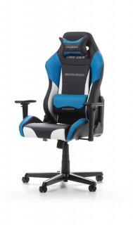 Gamer szék DXRacer Drifting Fekete/Fehér/Kék (GC-D61-NWB-M3) PC