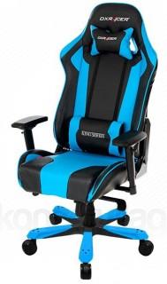 Gamer szék DXRacer King Fekete/Kék (OH/KS06/NB) PC
