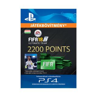 2200 FIFA 18 Points Pack - ESD HUN (Letölthető) PS4