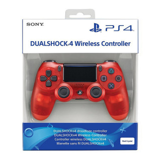 PlayStation 4 (PS4) Dualshock 4 Kontroller (Red Crystal) PS4
