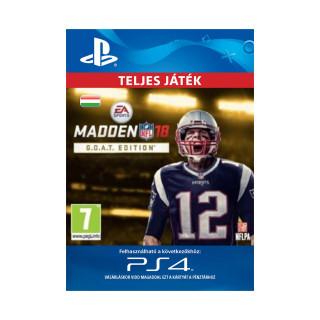 Madden NFL 18 G.O.A.T. Edition - ESD HUN (Letölthető) PS4
