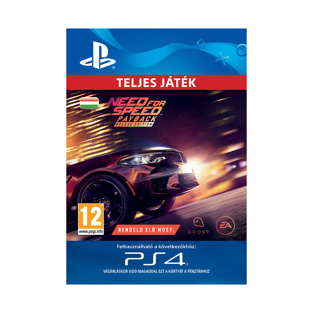 need for speed payback deluxe edition esd hun let lthet ps4 akci s r konzolvil g. Black Bedroom Furniture Sets. Home Design Ideas
