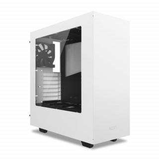 NZXT Source 340 (Fehér) (Táp nélküli) ATX ház (CA-S340W-W1) PC