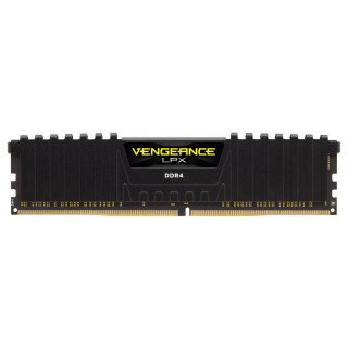 Corsair DDR4 2400 8GB Vengeance LPX CL16 Fekete (CMK8GX4M1A2400C16) PC
