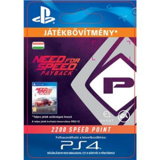 NFS Payback 2200 Speed Points - ESD HUN (Letölthető) PS4
