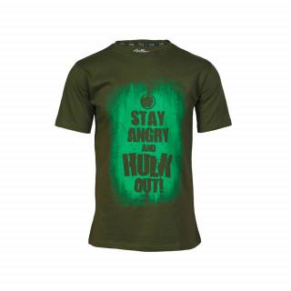 Marvel Avas Hulk Slogan póló (L-es méret) Ajándéktárgyak