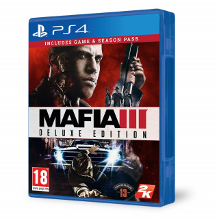 Mafia III (3) Deluxe Edition PS4