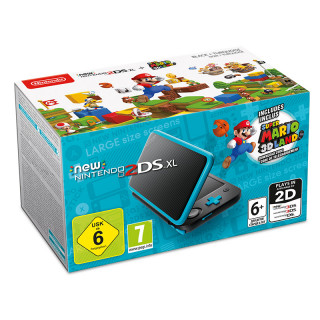 New Nintendo 2DS XL + Super Mario 3D Land (DLC) 3DS