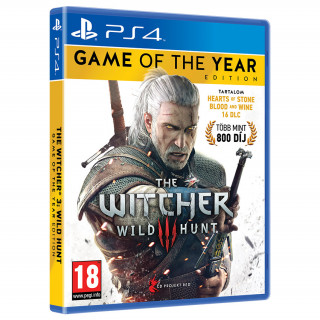 The Witcher 3: Wild Hunt Game of The Year Edition (GOTY) PS4