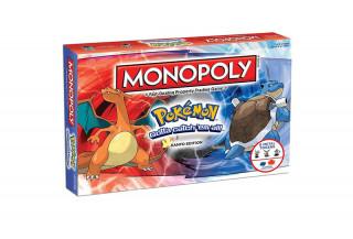 Monopoly Pokémon Kanto Edition (Angol nyelvű) AJÁNDÉKTÁRGY