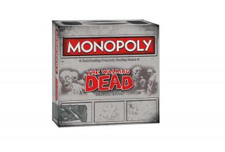 Monopoly Walking Dead Edition (Angol nyelvű) Ajándéktárgyak