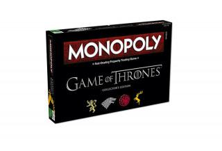 Monopoly Game of Thrones Edition (Angol nyelvű) AJÁNDÉKTÁRGY