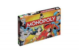 Monopoly DC Original (Angol nyelvű) Ajándéktárgyak