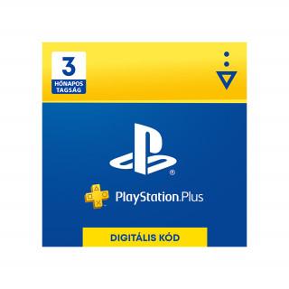 PlayStation Plus kártya 3 hónapos (PSN Plus) (DIGITÁLIS) (Letölthető) PS4