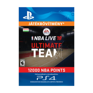 EA SPORTS™ NBA LIVE 18 ULTIMATE TEAM™ - 12000 NBA POINTS - ESD HUN (Letölthető) PS4
