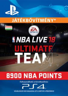 EA SPORTS™ NBA LIVE 18 ULTIMATE TEAM™ - 8900 NBA POINTS - ESD HUN (Letölthető) PS4