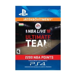 EA SPORTS™ NBA LIVE 18 ULTIMATE TEAM™ - 2200 NBA POINTS - ESD HUN (Letölthető) PS4