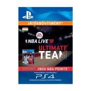 EA SPORTS™ NBA LIVE 18 ULTIMATE TEAM™ - 2800 NBA POINTS - ESD HUN (Letölthető)