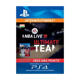 EA SPORTS™ NBA LIVE 18 ULTIMATE TEAM™ - 2800 NBA POINTS - ESD HUN (Letölthető) PS4