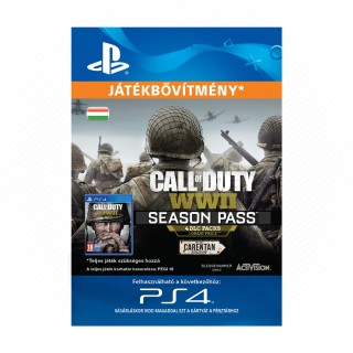 Call of Duty®: WWII - Season Pass - ESD HUN (Letölthető) PS4