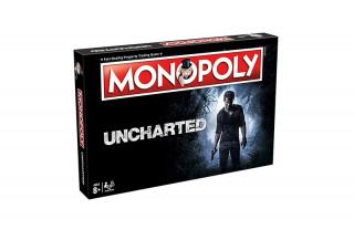 Monopoly Uncharted Edition (Angol nyelvű) Ajándéktárgyak