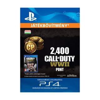 2,400 Call of Duty®: WWII Points - ESD HUN (Letölthető) PS4