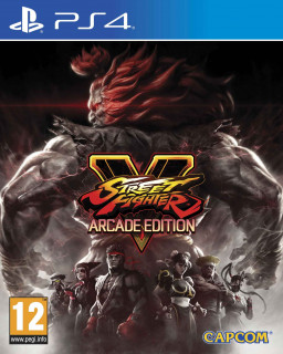 Street Fighter V Arcade Edition (használt) PS4