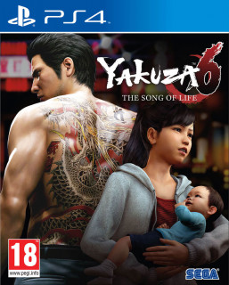 Yakuza 6: The Song of Life Essence of Art Edition (használt) PS4