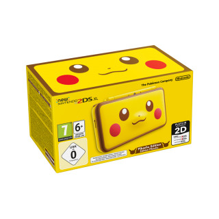 New Nintendo 2DS XL Pikachu Edition 3DS