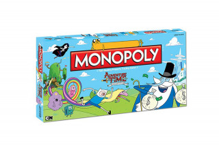 Monopoly Adventure Time Collector's Edition AJÁNDÉKTÁRGY