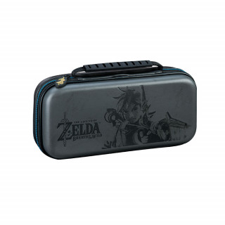 Nintendo Switch Zelda mintás tok (szürke) Nintendo Switch
