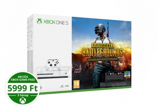 Xbox One S 1TB + PlayerUnknown's Battlegrounds XBOX ONE