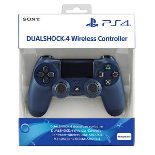 PlayStation 4 (PS4) Dualshock 4 Kontroller (Midnight Blue) PS4