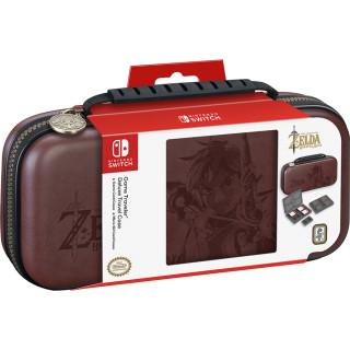 Nintendo Switch Zelda mintás tok (barna) Switch