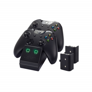 Venom VS2851 Xbox One fekete töltőállomás + 2 db akkumulátor XBOX ONE