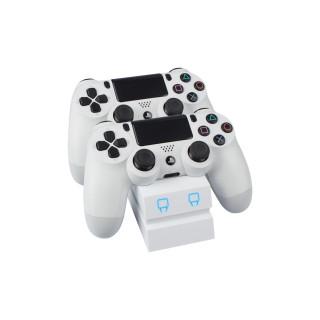 Venom VS2737 PS4 fehér dupla töltőállomás PS4
