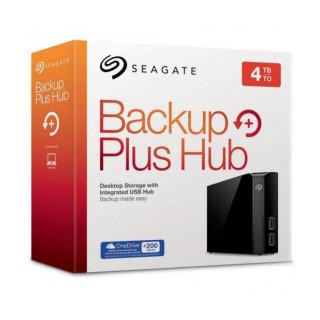 Seagate Backup Plus Hub 3.5'' külső merevlemez, 4TB USB3.0, fekete (STEL4000200) PC