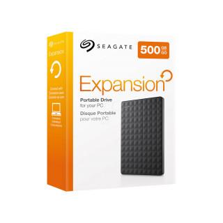 Seagate Expansion 2.5'' külső merevlemez, 500GB, USB 3.0, fekete (STEA500400) PC