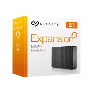 Seagate Expansion 3.5'' külső merevlemez, 2TB, USB 3.0, fekete (STEB2000200) PC